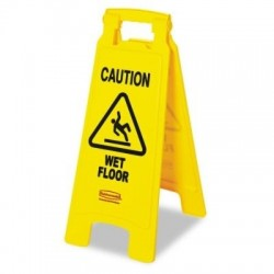 Caution Wet Floor Caution Med